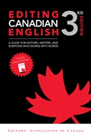 Editing Canadian English, 3rd edition (eBook)