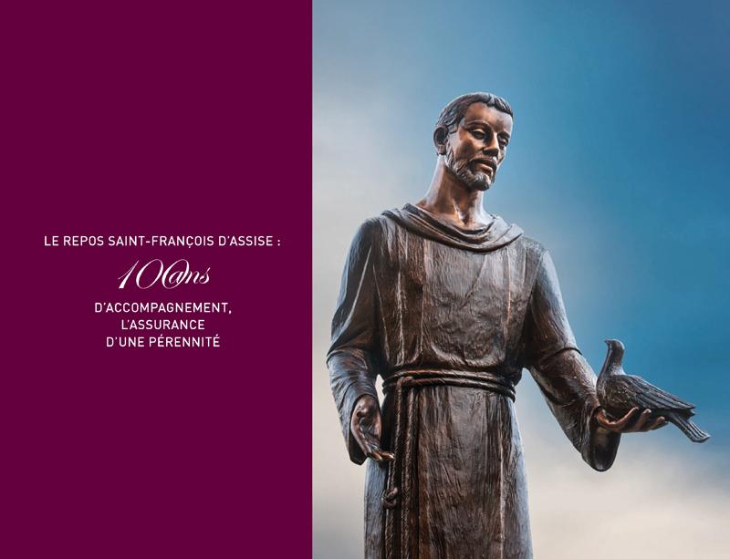 Le repos Saint-François d'Assise : 100 ans d'accompagnement, l'assurance d'une pérennité