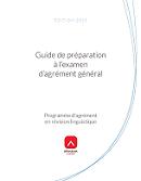 Guide de préparation à l'examen d'agrément général