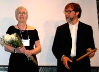 Lee d'Anjou et le Prix Lee-d'Anjou du bénévole de l'année, Cy Strom
