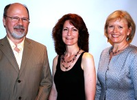 Les finalistes du prix d'excellence Tom-Fairley 2009 : Donald Ward, Mary Lou Roy et Mary Reeve