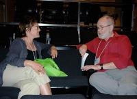 Jonathan Paterson partage son savoir lors de la séance de mentorat