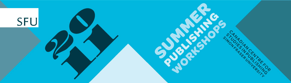 SFU Summer Publishing Workshops