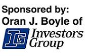 Oran Boyle of Investors Group