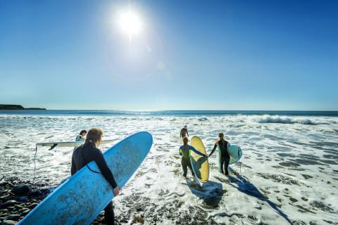 East Coast Surfing Nova Scotia