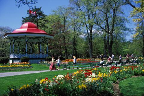 Halifax Public Gardens Nova Scotia