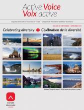 Active Voice/Voix active (September 2017)