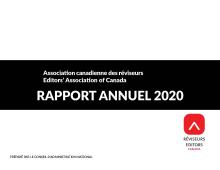 Rapport annuel pour l'année 2020