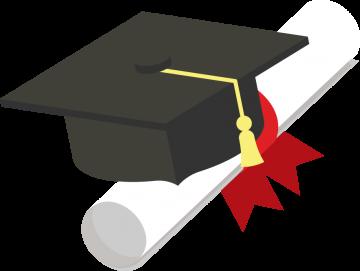 Bourse d'études Claudette-Upton, illustration d'un mortier et d'un diplôme enroulé (grgroup © 123RF.com)